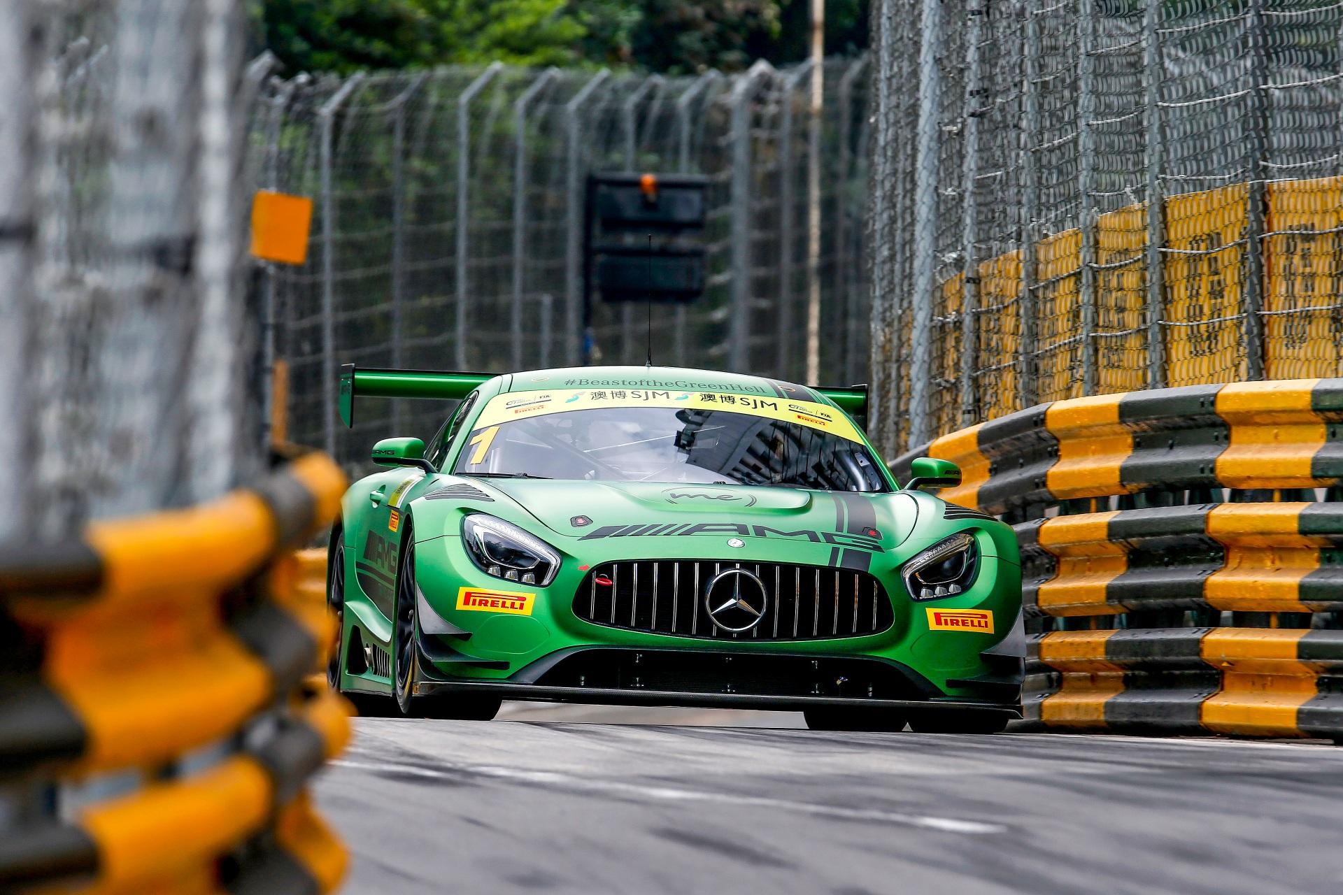 FIA GT World Cup 2016: Rang 3 und 6 für Mercedes-AMG beim FIA GT World Cup in Macau