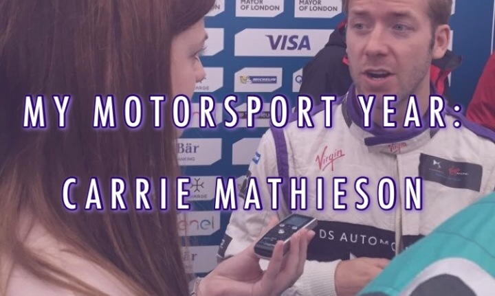 My Motorsport Year: Carrie Mathieson