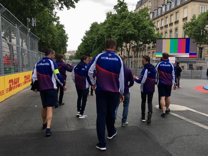 In Pictures: Walk The Paris ePrixTrack