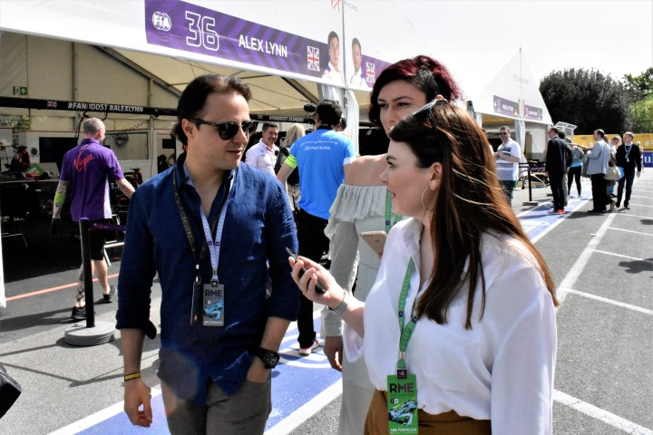Massa hints at future Formula E drive whilst at Rome ePrix